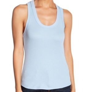 PST by Project Social T Ribbed Racerback Tank